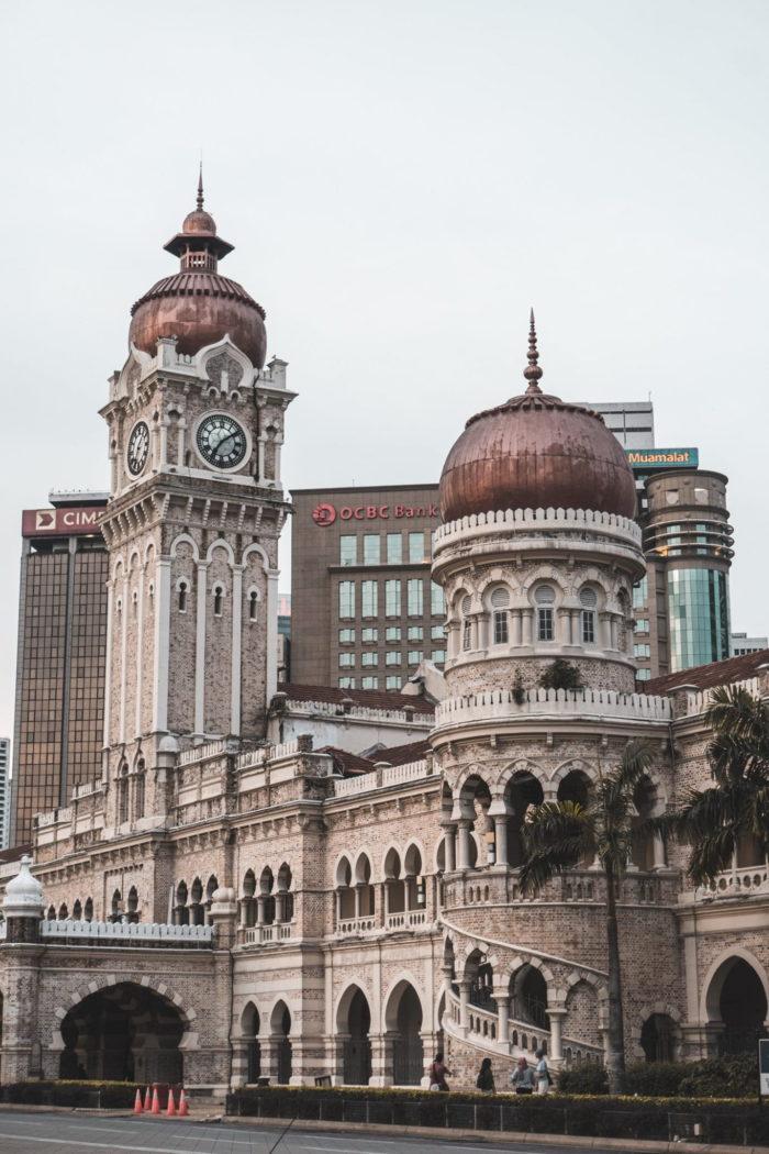 صور سفر، المعالم السياحية في ماليزيا مبنى السلطان عبد الصمد، كوالالمبور