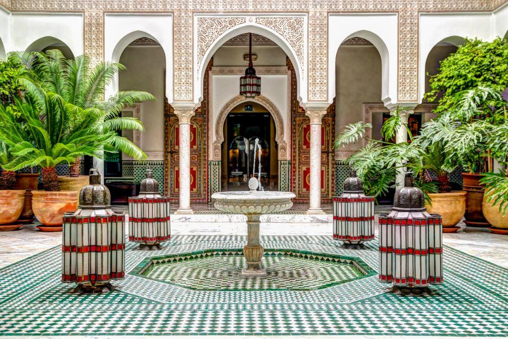 صور سفر، أجمل المقاهي حول العالم، مقهى la mamounia، المغرب