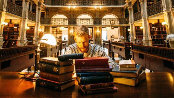 صور سفر، أجمل المكاتب في العالم، مكتبة جورج بيبودي، الولايات المتحدة الأمريكية