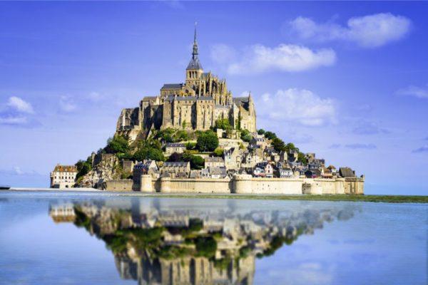 صور سفر، أجمل المواقع الطبيعية في اوروبا، جبل القديس ميشيل، فرنسا