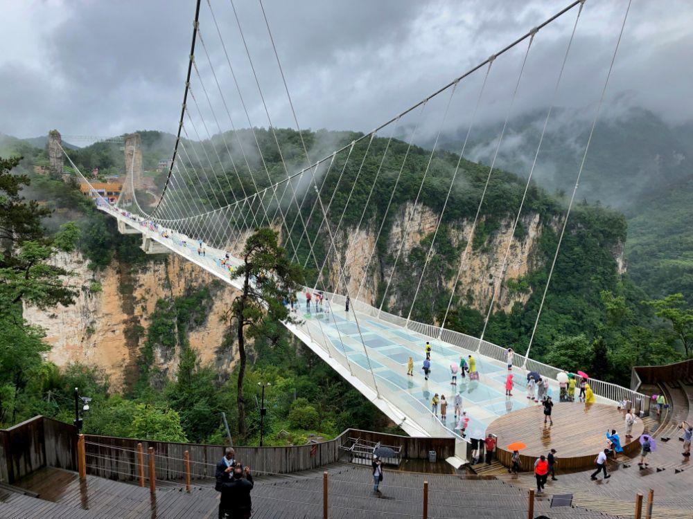صور سفر، أكثر المزارات المخيفة في العالم، الجسر الزجاجي، الصين