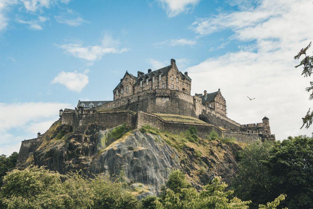 صور سفر، أكثر المزارات المخيفة في العالم، قلعة إدنبرة، اسكتلندا