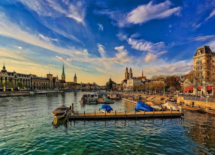 صور سفر، أئمن المدن في العالم، زيوريخ ، سويسرا