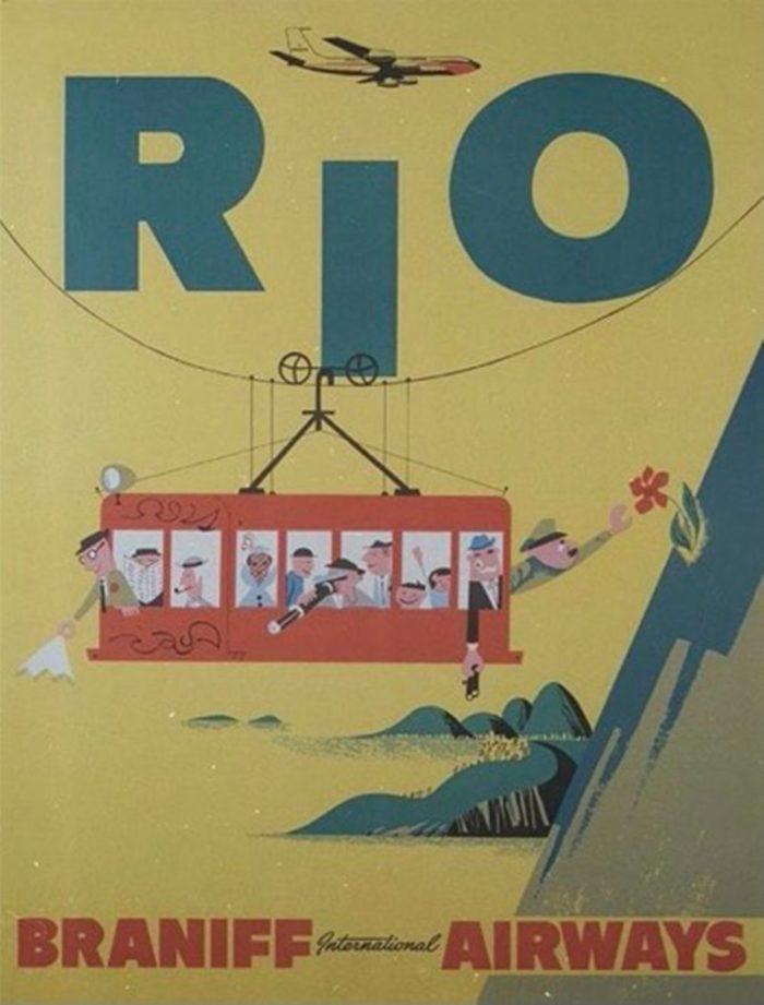 صور سفر، إعلانات السفر القديمة