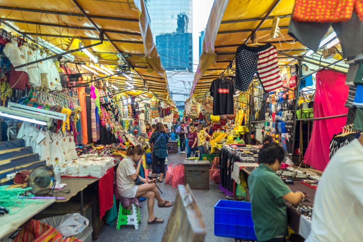صور سفر، صور بانكوك، أهم المعالم السياحية في بانكوك، سوق شاتشوك