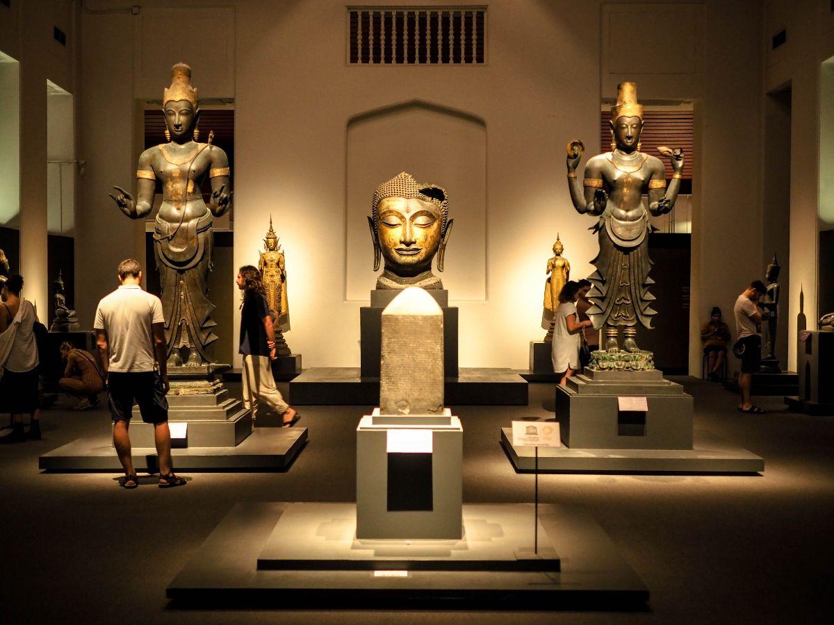 صور سفر، صور بانكوك، أهم المعالم السياحية في بانكوك، متحف بانكوك الوطني