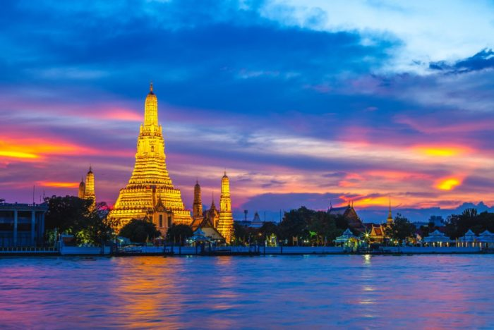 صور سفر، صور بانكوك، أهم المعالم السياحية في بانكوك، معبد وات ارون