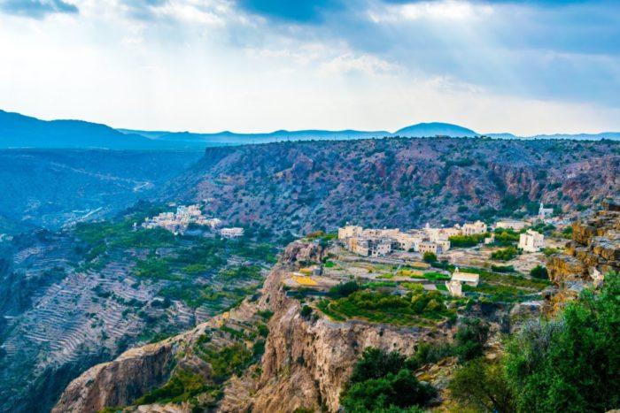 صور سفر، صور عمان، أهم الأماكن السياحية في عمان، الجبل الأخضر