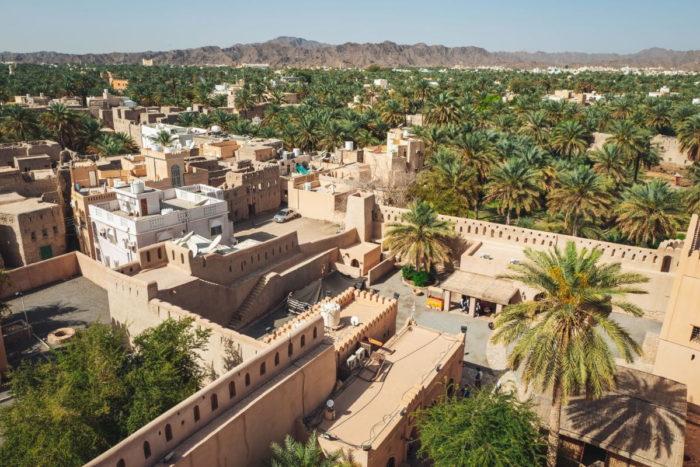 صور سفر، صور عمان، أهم الأماكن السياحية في عمان، قلعة نزوى