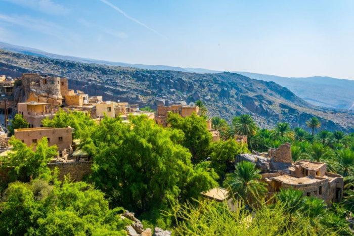 صور سفر، صور عمان، أهم الأماكن السياحية في عمان، مسفاة العبريين