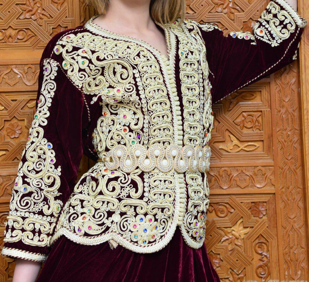 صور سفر، صور عيد الفطر، التصاميم الجميلة للقفطان المغربي