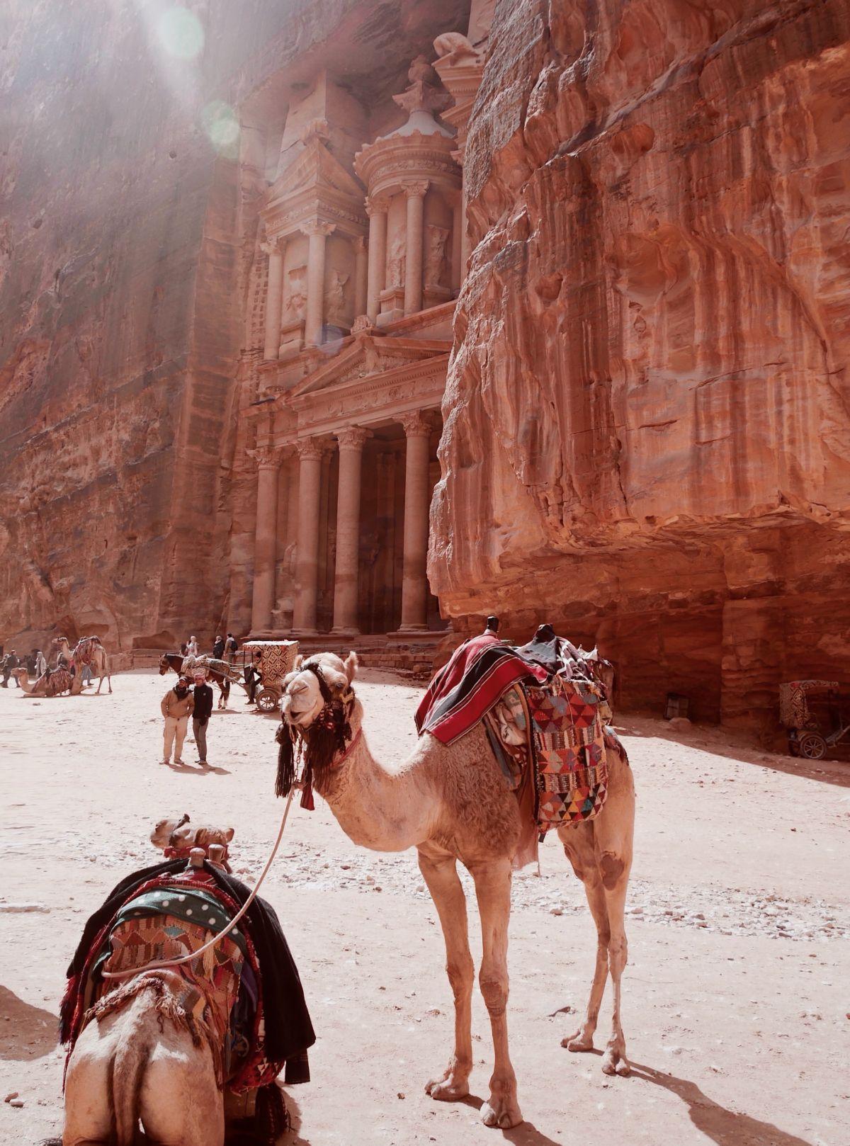 صور سفر، عجائب الدنيا السبع الجديدة، البتراء