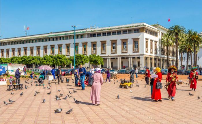 صور سفر الدار البيضاء، المعالم السياحية في الدار البيضاء، ساحة محمد الخامس