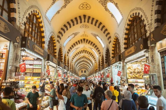 صور سفر إسطنبول، المعالم السياحية في إسطنبول، سوق مصر