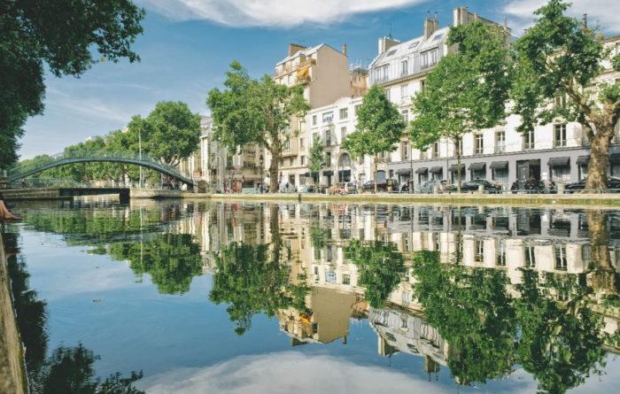 صور سفر باريس، أفضل المعالم السياحية في باريس، قناة سان مارتن