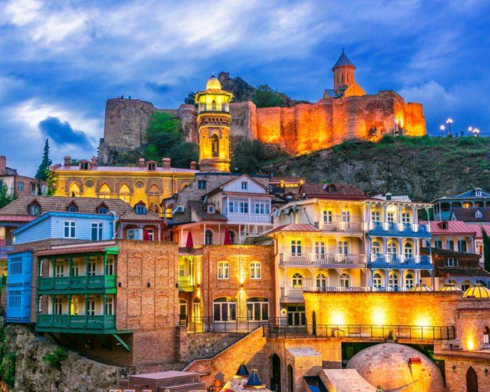 صور سفر تبليسي، المعالم السياحية في تبليسي، المدينة القديمة