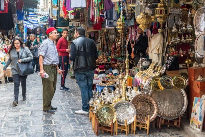 صور سفر تونس، أهم المعالم السياحية في تونس، الأسواق القديمة