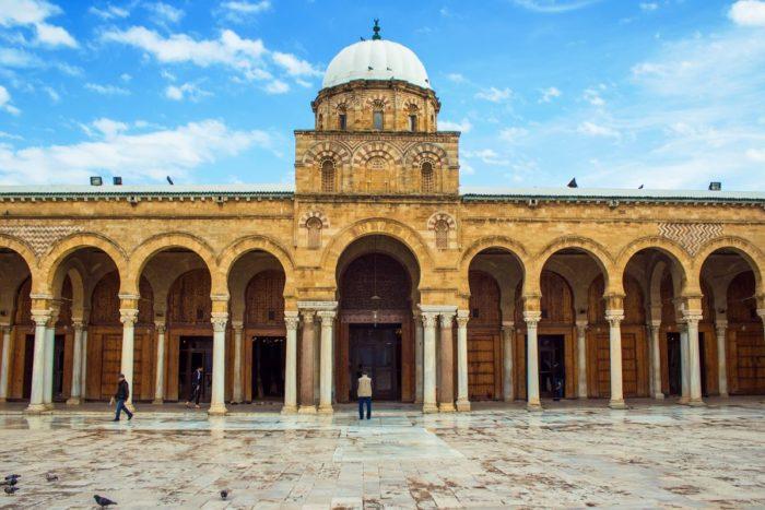 صور سفر تونس، أهم المعالم السياحية في تونس، جامع الزيتونة