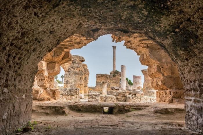 صور سفر تونس، أهم المعالم السياحية في تونس، حمامات أنطونيوس