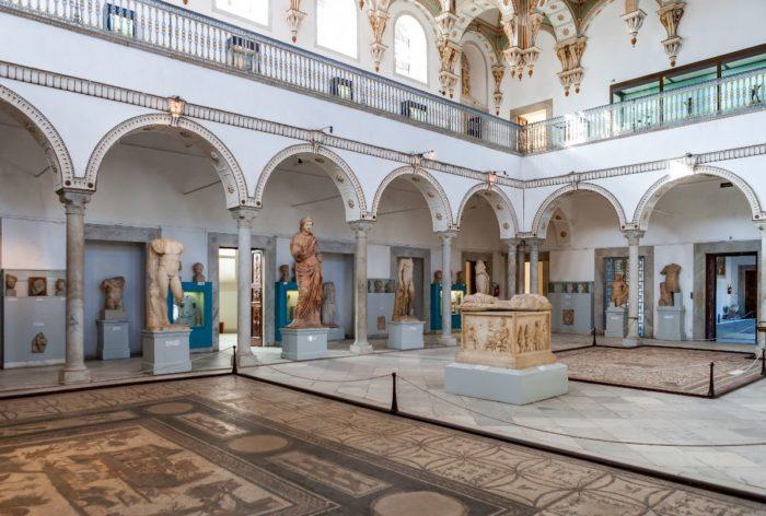 صور سفر تونس، أهم المعالم السياحية في تونس، متحف باردو الوطني