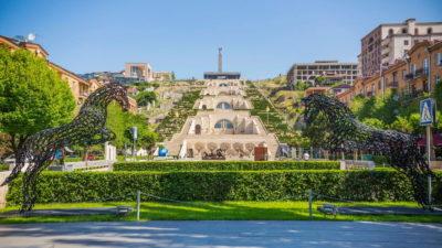 صور سفر يريفان، المعالم السياحية في يريفان، شلال يريفان