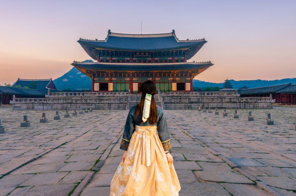 صور سيول، صور سفر، أفضل المعالم السياحية في سيول، قصر غيونغبوك