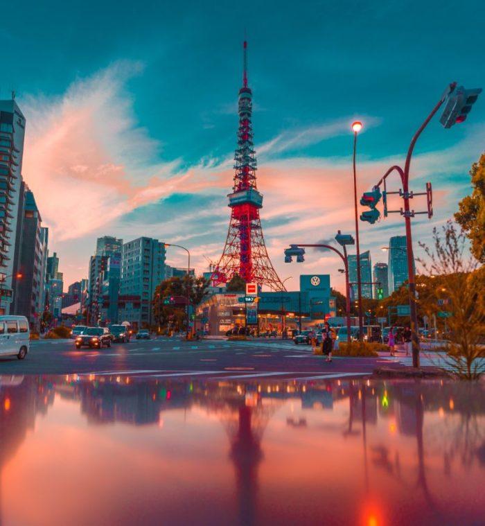 صور طوكيو، صور سفر، أفضل المعالم السياحية في طوكيو، برج طوكيو