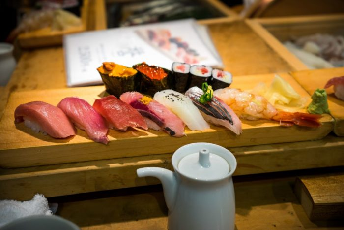 صور طوكيو، صور سفر، أفضل المعالم السياحية في طوكيو، سوق تسكيجي