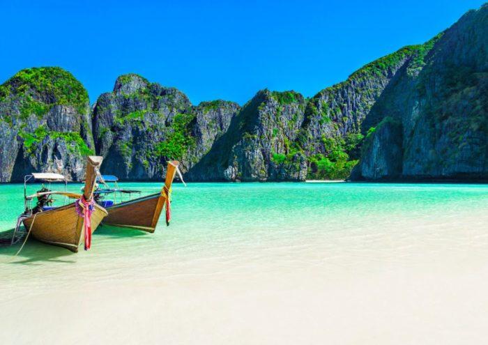 صور كرابي، صور سفر، أفضل المعالم السياحية في كرابي، خليج مايا باي