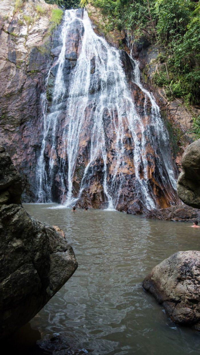 صور كوساموي، صور سفر، أفضل المعالم السياحية في كوساموي، شلالات نا موانج