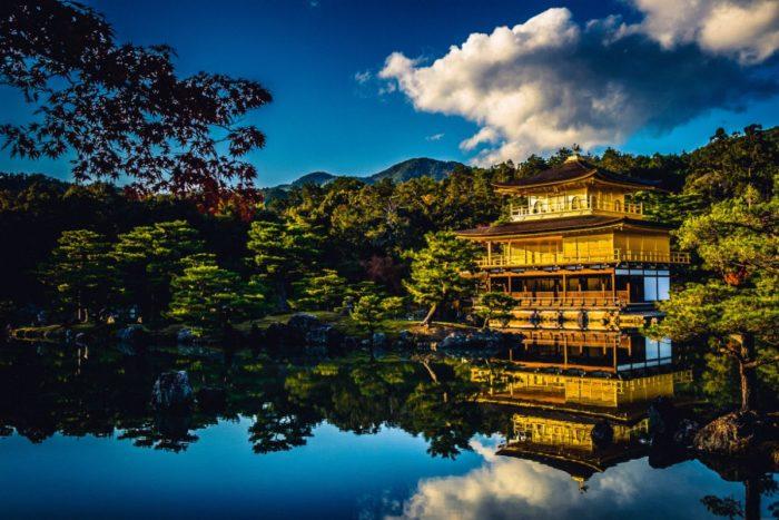 صور كيوتو، صور سفر، أفضل المعالم السياحية في كيوتو، الجناح الذهبي