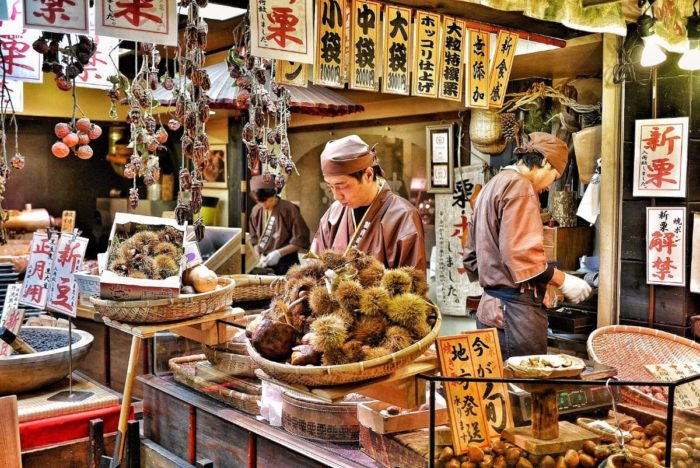 صور كيوتو، صور سفر، أفضل المعالم السياحية في كيوتو، سوق نيشيكي