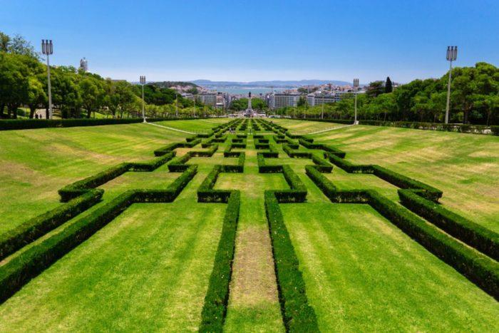 صور لشبونة، صور سفر، أفضل المعالم السياحية في لشبونة، حديقة إدوارد السابع