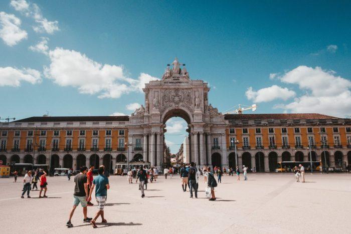 صور لشبونة، صور سفر، أفضل المعالم السياحية في لشبونة، ميدان التجارة