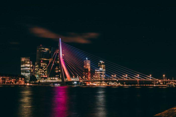 صور هولندا، أجمل المعالم السياحية في هولندا، جسر ايراسموس، روتردام erasmusbrug