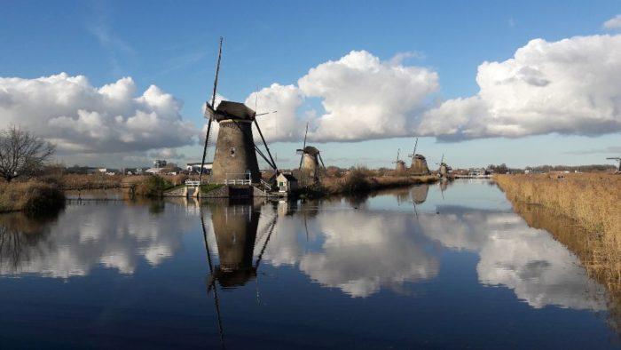 صور هولندا، أجمل المعالم السياحية في هولندا، طواحين الهواء، قرية كيندريك windmills